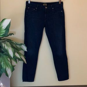 Mother The Looker Crop, size 28